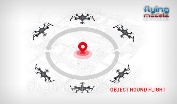 Walkera Scout X4 - G3D gimbal - 5,8GHz videó adó - Devo F12E TX - RTF3 10