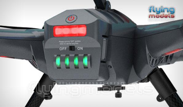 Walkera Scout X4 - G3D gimbal - 5,8GHz videó adó - Devo F12E TX - RTF3 11
