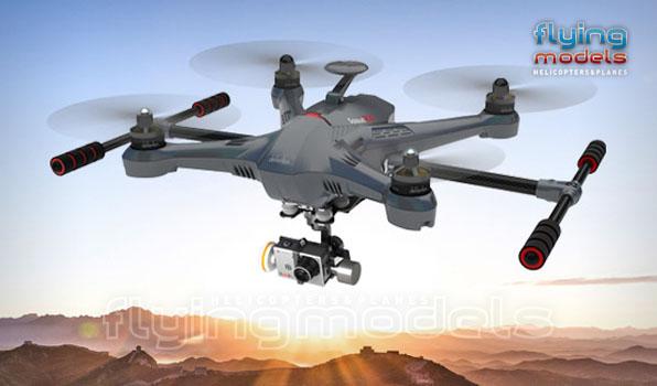 Walkera Scout X4 - G3D gimbal - 5,8GHz videó adó - Devo F12E TX - RTF3 18