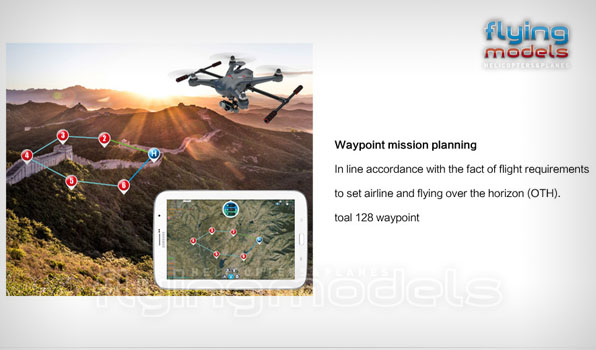 Walkera Scout X4 - G3D gimbal - 5,8GHz videó adó - Devo F12E TX - RTF3 2