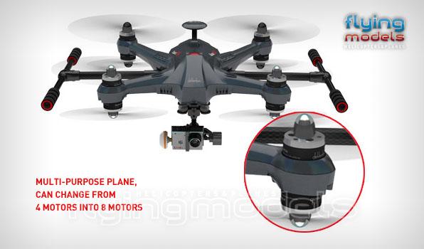 Walkera Scout X4 - G3D gimbal - iLook+ camera - Devo F12E TX - RTF1 5