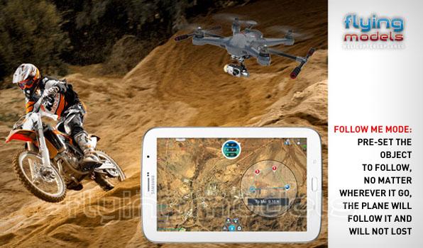 Walkera Scout X4 - G3D gimbal - iLook+ camera - Devo F12E TX - RTF1 6