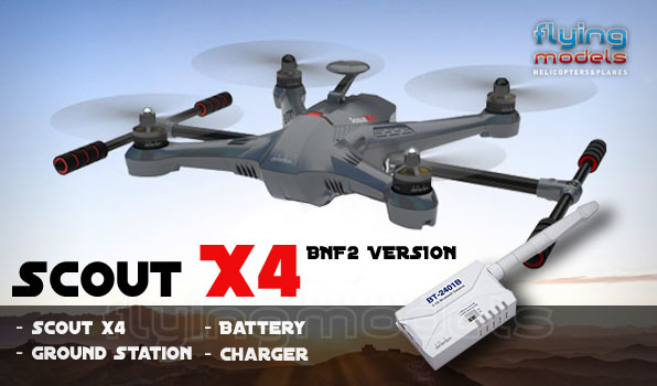Walkera Scout X4 + Ground Station BNF2 18