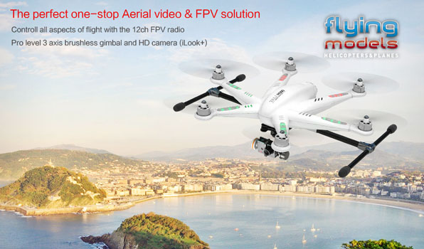 Walkera TALI H500 FPV GPS Brushless Hexacopter BNF 1