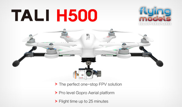 Walkera TALI H500 FPV GPS Brushless Hexacopter BNF 11