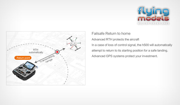 Walkera TALI H500 FPV GPS Brushless Hexacopter RTF1 - Devo F12E 10