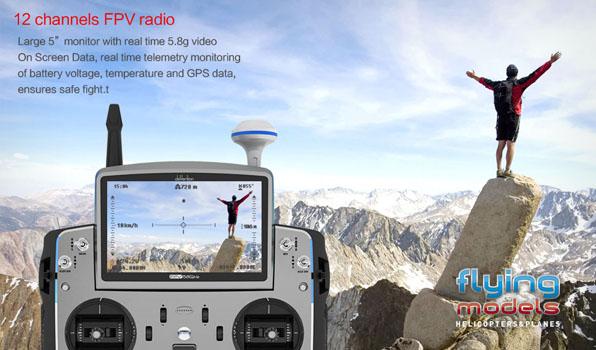 Walkera TALI H500 FPV GPS Brushless Hexacopter RTF1 - Devo F12E 2