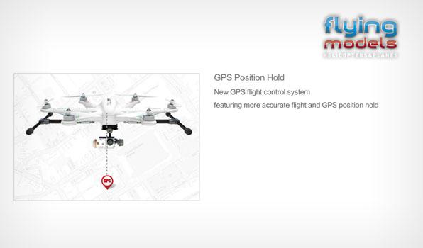 Walkera TALI H500 FPV GPS Brushless Hexacopter RTF1 - Devo F12E 6