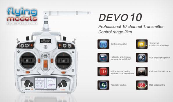 Walkera TALI H500 FPV GPS Brushless Hexacopter RTF3 - Devo 10 1