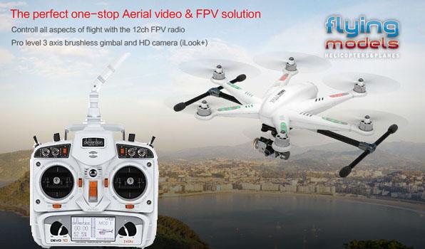 Walkera TALI H500 FPV GPS Brushless Hexacopter RTF3 - Devo 10 10