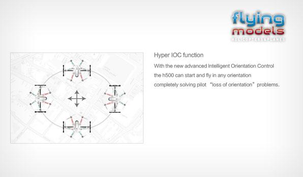 Walkera TALI H500 FPV GPS Brushless Hexacopter RTF3 - Devo 10 5