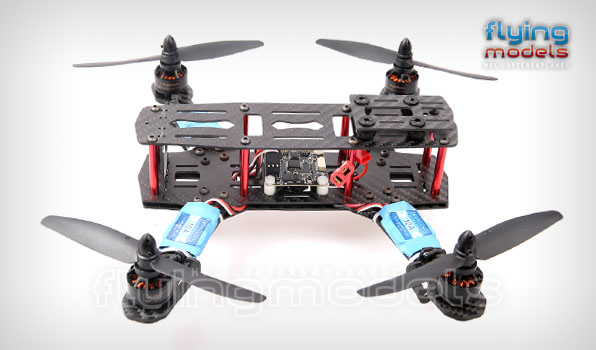 XBird 250 FPV Race carbon quadcopter BNF 2