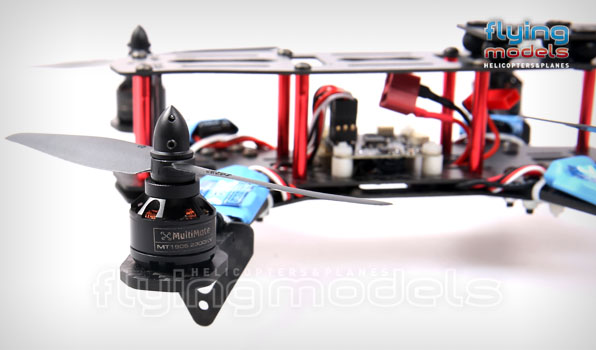 XBird 250 FPV Race carbon quadcopter BNF 3