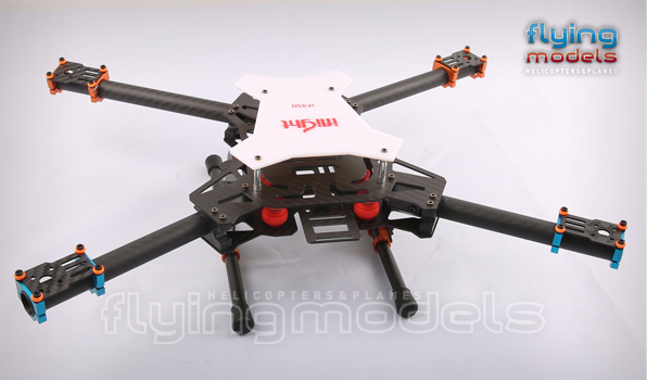 XBird 450 carbon quadcopter BNF 1