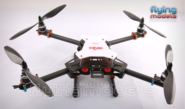 XBird 450 carbon quadcopter BNF 6