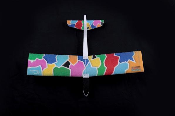PlanetFly EPP Colourful free flight 3