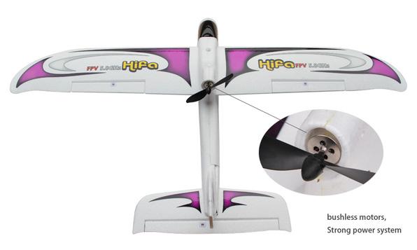 Walkera Hifa FPV repülőgép Devo F4 RTF 3