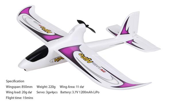 Walkera Hifa FPV repülőgép Devo F4 RTF 4