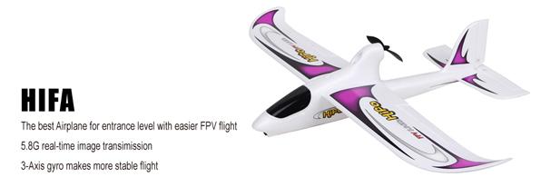 Walkera Hifa FPV repülőgép Devo F4 RTF 6